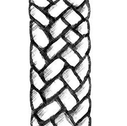 Mèche de fibre de verre - ronde pour lampe à pétrole - Pièces de rechange