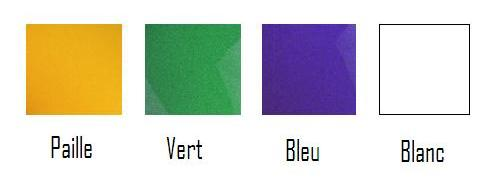 Opaline de rechange 30 cm environ - opaline de couleur verte - Opaline de rechange